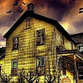 Haunted Halloween House by Robin Pross