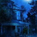 Haunted House Full Moon by Jill Battaglia