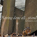 Having Done All - Stand  ---  6 Eph 12