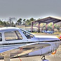 Hdr Airplane Looks Plane From Afar Under Canopy by Pictures HDR