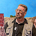 He Was One Of Us Print by Tom Roderick