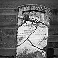 Headstone Of Lafayette Meeks by Teresa Mucha