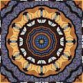 Healing Mandala 16 Print by Bell And Todd