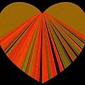 Heartline 5 Print by Will Borden