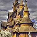 Heddal Stave Church  by Heiko Koehrer-Wagner