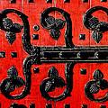 Heinz Chapel Door Detail by Thomas R Fletcher