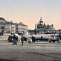 Helsinki Finland - Senate Square by Bode Stevenson