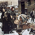 HENNINGSEN  EVICTED 1890 Print by Granger