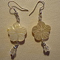 Hibiscus Hawaii Flower Earrings by Jenna Green