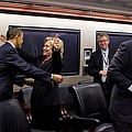 Hillary Clinton Joyfully Congratulates by Everett