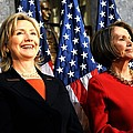 Hillary Clinton Stands With Speaker by Everett