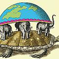 Hindu Cosmological Myth by Sheila Terry