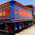 Historic Jupiter Train - Promontory Point National Historic Park Print by Gary Whitton