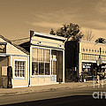 Historic Niles District In California Near Fremont . Main Street . Niles Boulevard . 7d10676 . Sepia by Wingsdomain Art and Photography