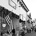 Historic Niles District In California Near Fremont . Main Street . Niles Boulevard . 7d10693 . Bw by Wingsdomain Art and Photography