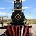 Historic Steam Locomotive Print by Gary Whitton