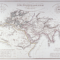 Historical Map Of The Known World by Fototeca Storica Nazionale