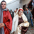 Holy Family At 4th Annual Christmas March For Peace And Unity by Munir Alawi