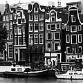 Homes Of Amsterdam by Leslie Leda