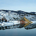 Horsetooth Reflections by Julie Magers Soulen