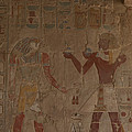 Horus Is Shown Receiving Gifts by Taylor S. Kennedy