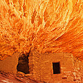House On Fire Portrait 1 by Bob and Nancy Kendrick