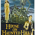 House On Haunted Hill, Alternate Poster by Everett