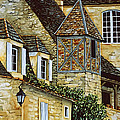 Houses In Sarlat by Scott Nelson