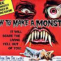 How To Make A Monster, Half-sheet by Everett
