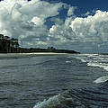 Hunting Island Surf by Skip Willits