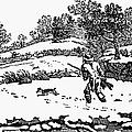 Hunting: Winter, C1800 by Granger