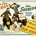 I Was A Male War Bride, Cary Grant, Ann by Everett