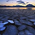 Ice Flakes Drifting Towards by Arild Heitmann