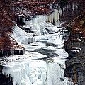 Icy Waterfalls by Paul Ge