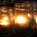 Illuminated Mason Jars by Christy Beal