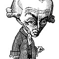 Immanuel Kant, Caricature by Gary Brown