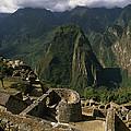 Inca Ruins At Machu Picchu Are Biggest by Gordon Wiltsie