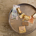 Indian Money In A Dish by Inti St. Clair
