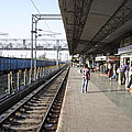 Indian Railway Station by Sumit Mehndiratta