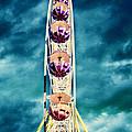 infrared Ferris wheel by Stelios Kleanthous