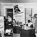 Interior View Of Naacp Branch Office by Everett