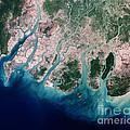 Irrawaddy River Delta by Nasa