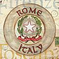 Italian Coat Of Arms by Debbie DeWitt