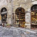 Italian Delicatessen or Macelleria Print by Jeremy Woodhouse
