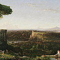 Italian Scene Composition Print by Thomas Cole