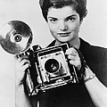 Jacqueline Bouvier As The Inquiring by Everett
