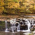 Java Falls in Autumn
