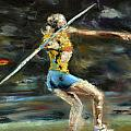 Javelin Thrower by Paul Mitchell