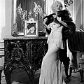 Jean Harlow With Photograph by Everett