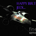 Jedi Birthday Card by Micah May